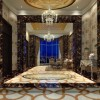 Marble background wall design